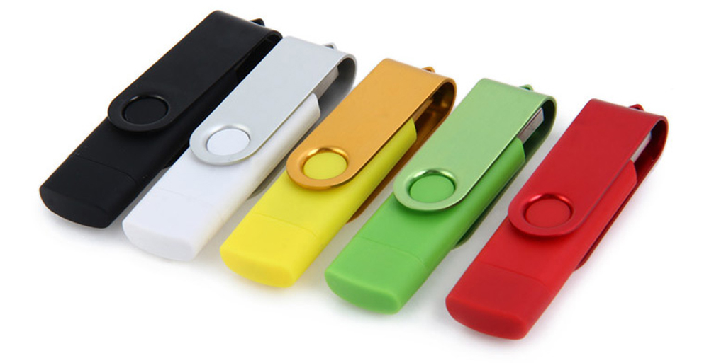 2 in 1 32GB OTG USB 2.0 Flash Drive for Laptop / Smart Phone / PC / Notebook etc.
