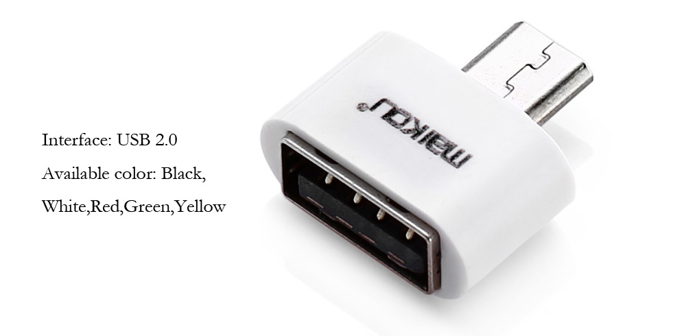Maikou MK-205 USB 2.0 Female to Micro USB Male Connector