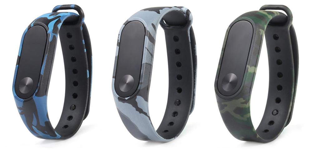 Camouflage Pattern Watch Band for Xiaomi Mi band 2