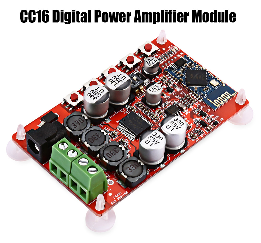 Cc16 Digital Power Amplifier Module 1605 Free Shipping Audio Kit Thermometer With Pic16f84 Circuit Package Contents 1 X Receiver