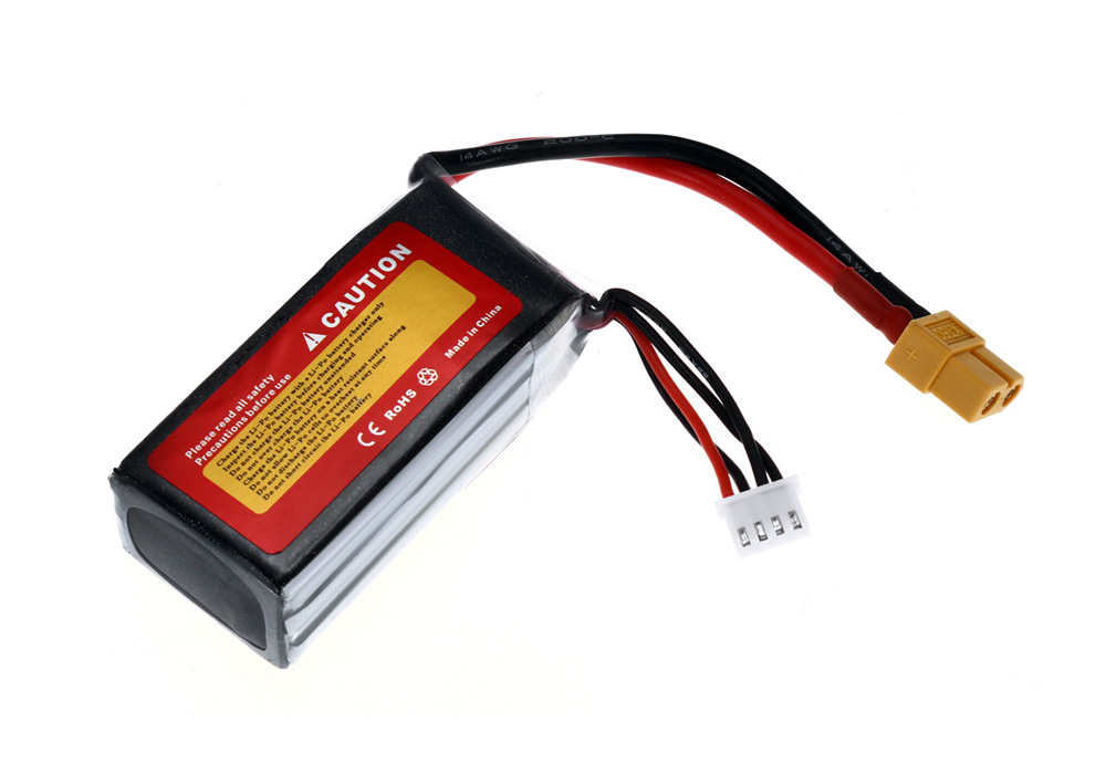 ZOP Power XT60 Plug 11.1V 3S 1300mAh 45C Battery Accessory for Multirotor Model