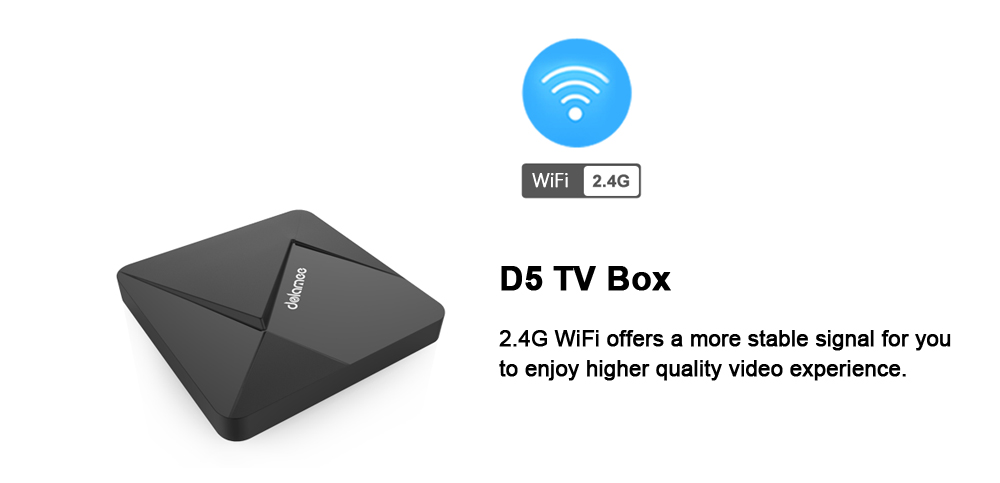 dolamee D5 TV Box Rockchip 3229 Quad Core