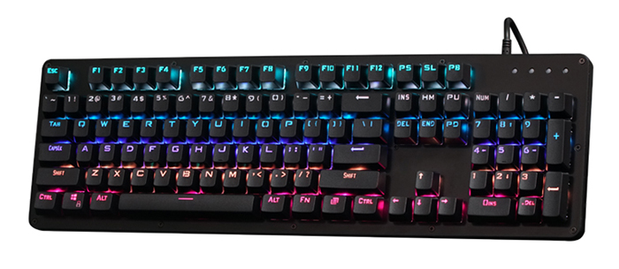 K002 - 104RGB USB Wired Gaming Mechanical Keyboard with LED Backlit