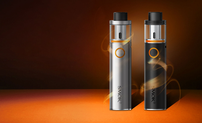 Original Smok Vape Pen 22 Mod Kit with Built-in 1650mAh / One Button Design / 0.3 ohm Tank Atomizer for E Cigarette