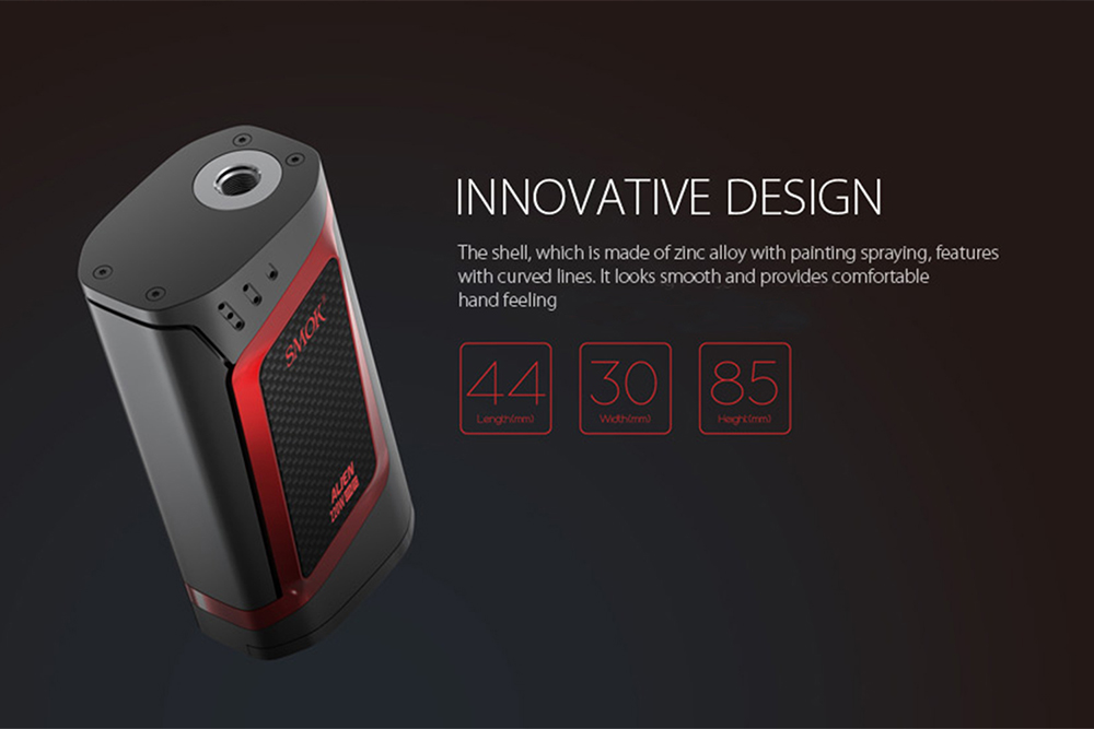 Originale Smok Alien 220W TC Box Mod