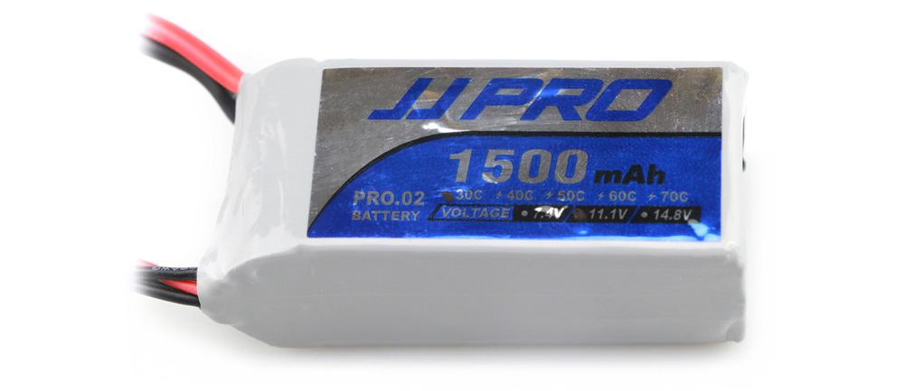 Original JJRC 11.1V 3S 1500mAh 30C XT60 Plug Battery Accessory for JJPRO P175 / P200 / Falcon 210 Multirotor
