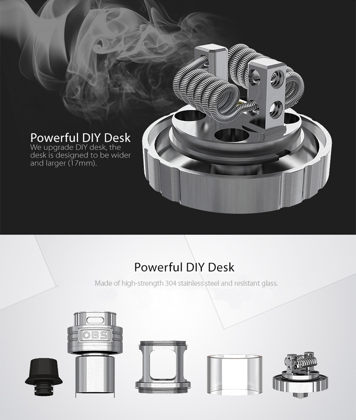 Original OBS Engine RTA Atomizer 25mm 5.2ml -$20.99 Online