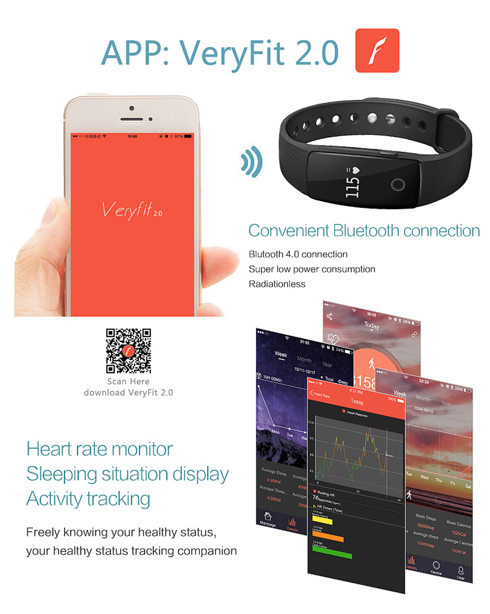 ID107 Smart Bluetooth Watch