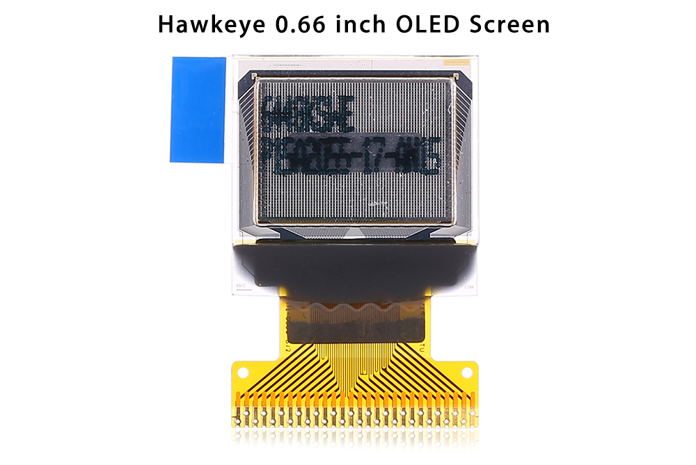 Hawkeye 0.66 inch Firefly Action Camera Q6 External OLED Display Screen