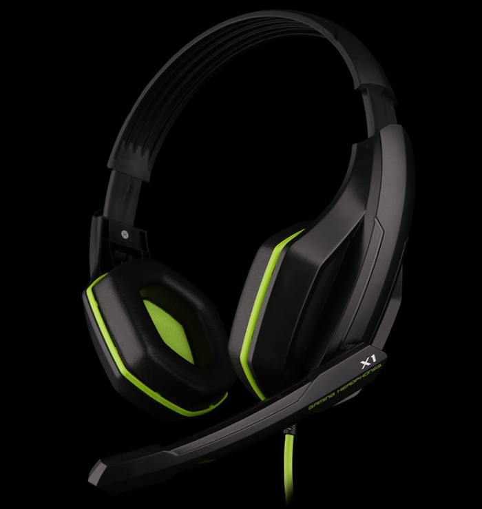 OVANN X1 Wired Gaming Headsets with Microphone Volume Control 3.5mm Audio Jack