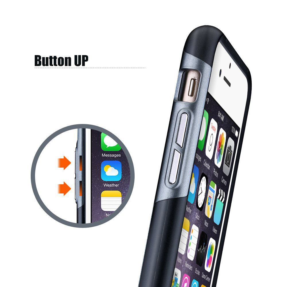 MPOW Ultra-thin PC Protective Phone Back Case for iPhone 7 Premium Matte Finish Mobile Shell