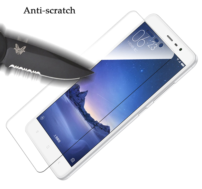 Luanke Tempered Glass Screen Protective Film for Xiaomi Redmi Note 3 Pro 0.3mm 2.5D 9H Explosion-proof Membrane