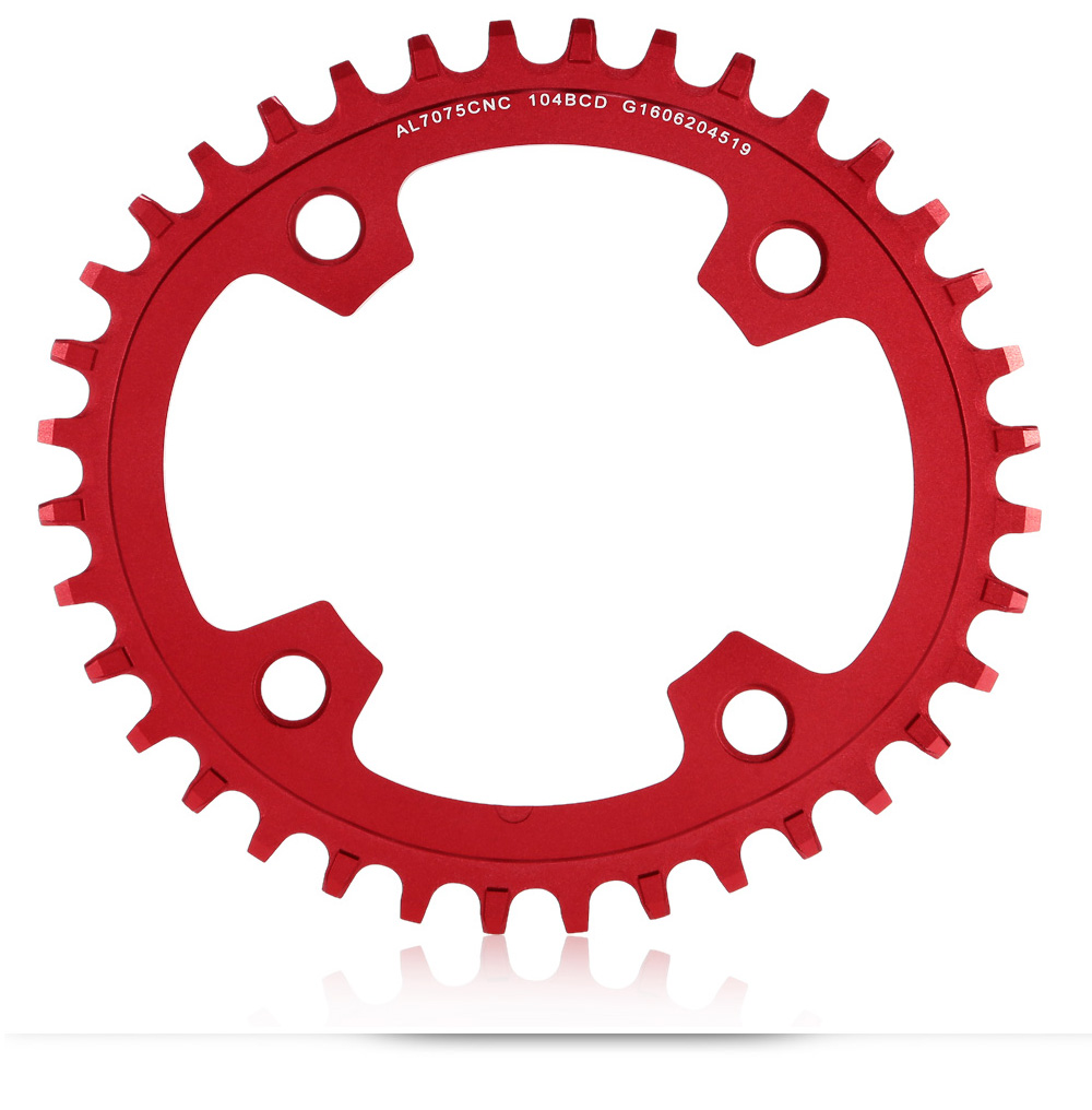 GUB XX11 36T MTB Bike Chain Ring 104mm Narrow Wide Oval Single Chainring Bicycle Speed Sprocket Cycling Accessories