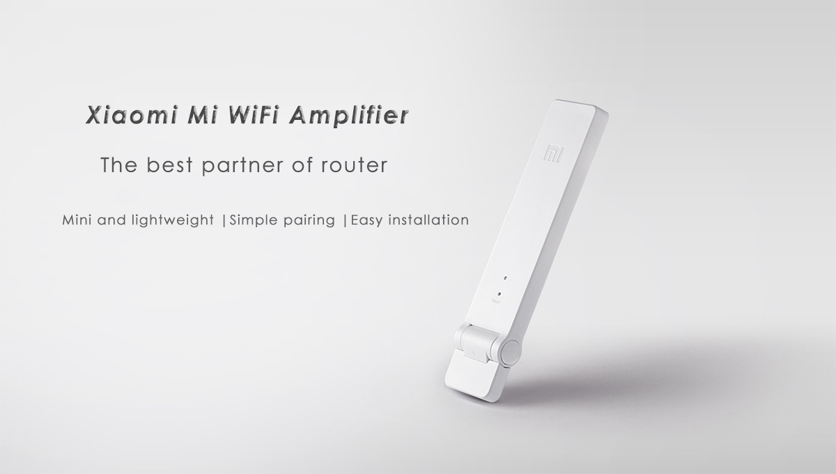 Original Xiaomi Mi Wifi Amplifier English Version 726 Free Page Here Indoor 2 Watt Wiring Diagram Wireless Router Expander Usb Power Supply