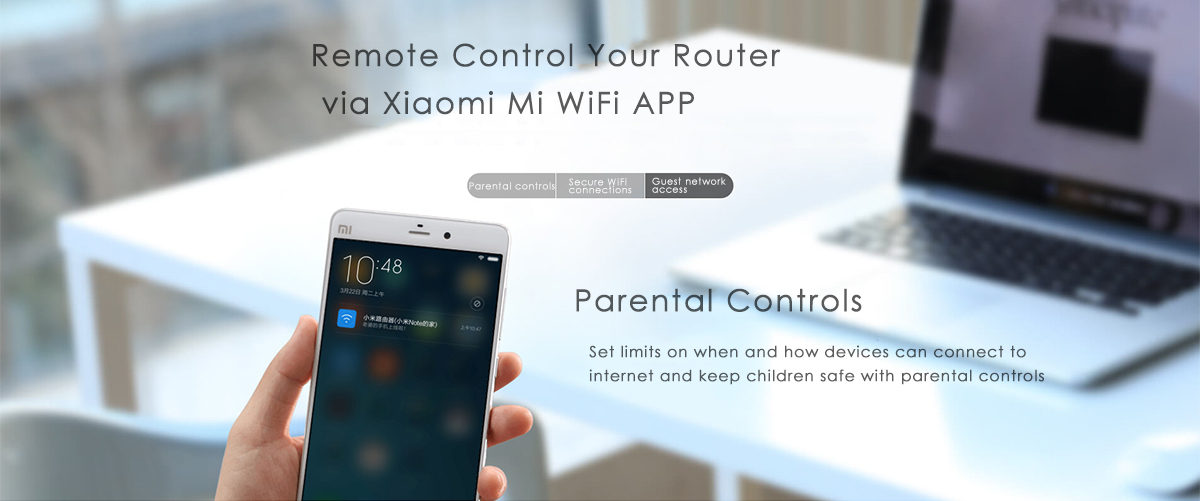 Originale Xiaomi Mi WiFi Routeur 3 en Version Anglaise