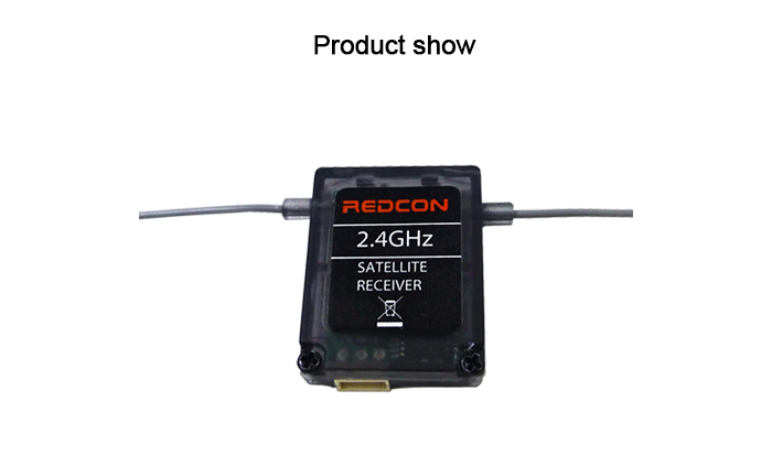 REDCON R601X 2.4G 20CH Receiver without Case for Multirotor