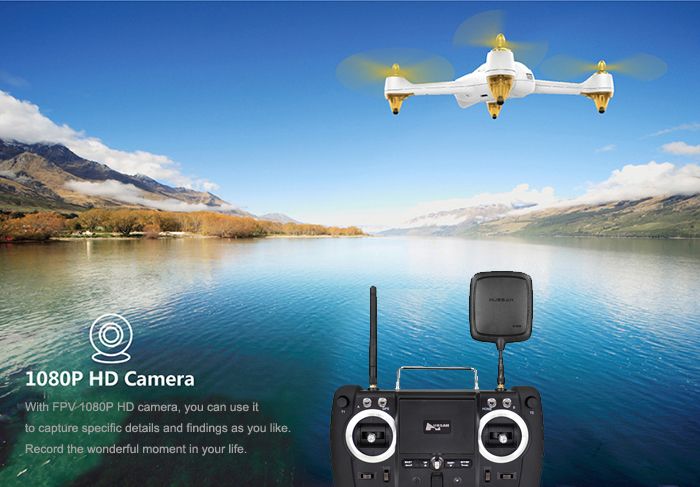 Hubsan H501S X4 5.8G FPV 10CH Brushless with 1080P HD Camera GPS RC Quadcopter - Advanced Version