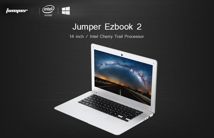 jumper ezbook  Jumper Ezbook 2 Ultrabook Laptop - $190.83 Free Shipping