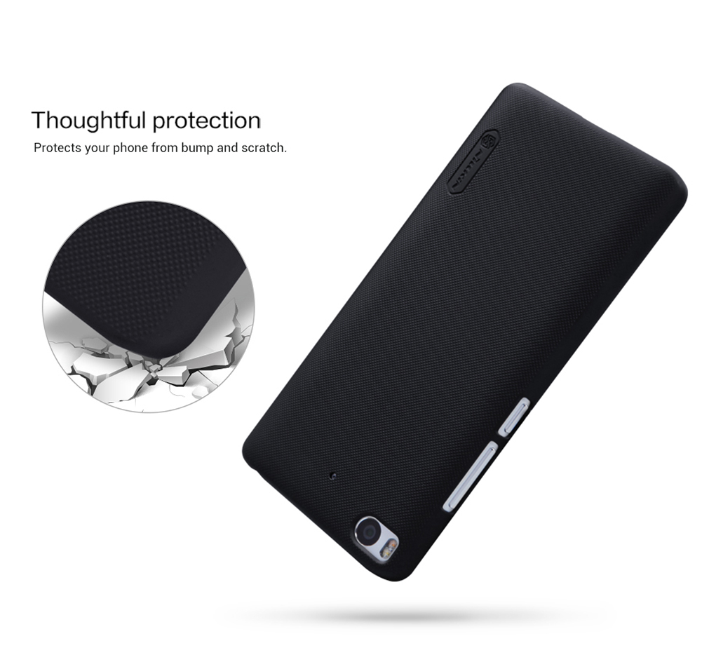Nillkin Frosted Style PC Hard Protective Cover Case with Screen Film for Xiaomi 5S