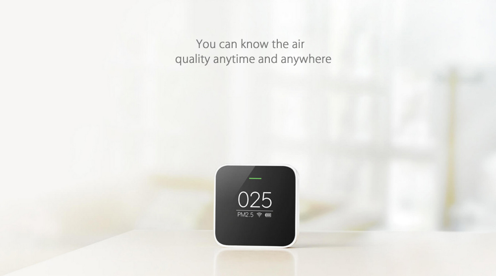 Xiaomi Smart Air Quality Monitor PM2.5 Detector for Home- Black