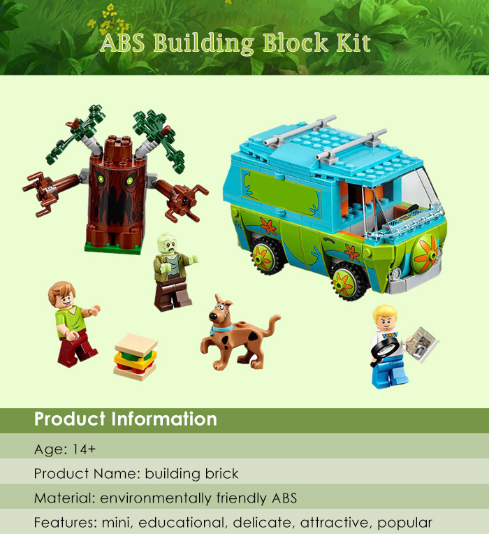 Cartoon Figure Building Block ABS Educational Movie Product Kid Toy - 305pcs
