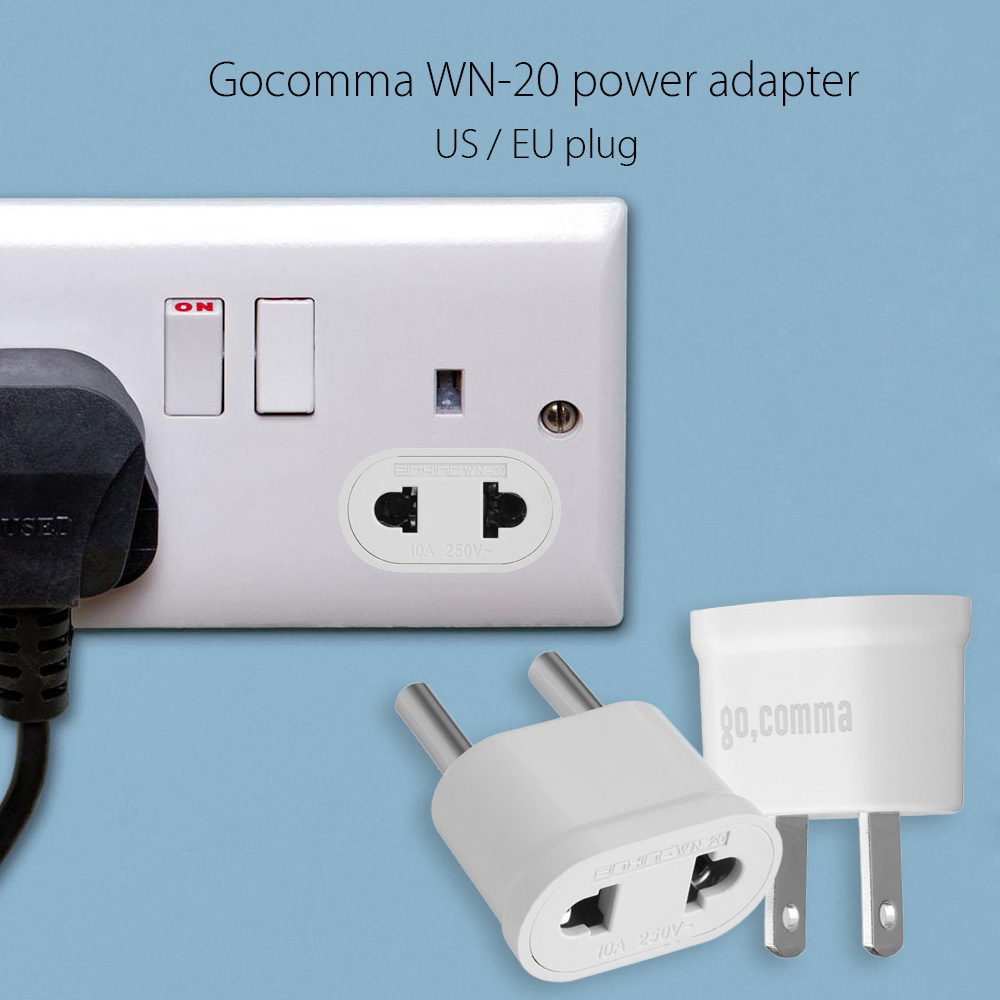 Gocomma  WN - 20 Two-feeted Power Adapter Connector