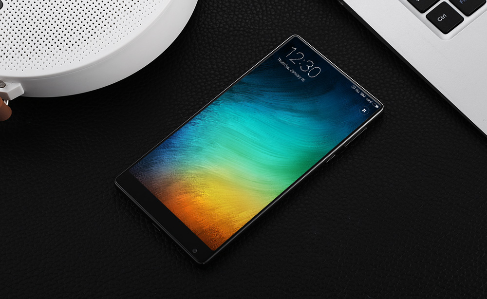 Xiaomi Mi MIX 6.4 inch 4G Phablet MIUI 8 or Above Snapdragon 821 Quad Core 5MP + 16MP Cameras NFC UFS 2.0 2040 x 1080 4400mAh Battery