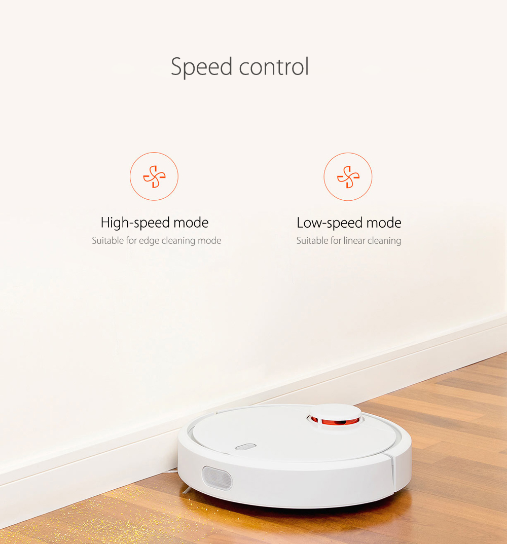 Robotic Vacuum Cleaner Side Brushes for Xiaomi Sweeper Accessories- White