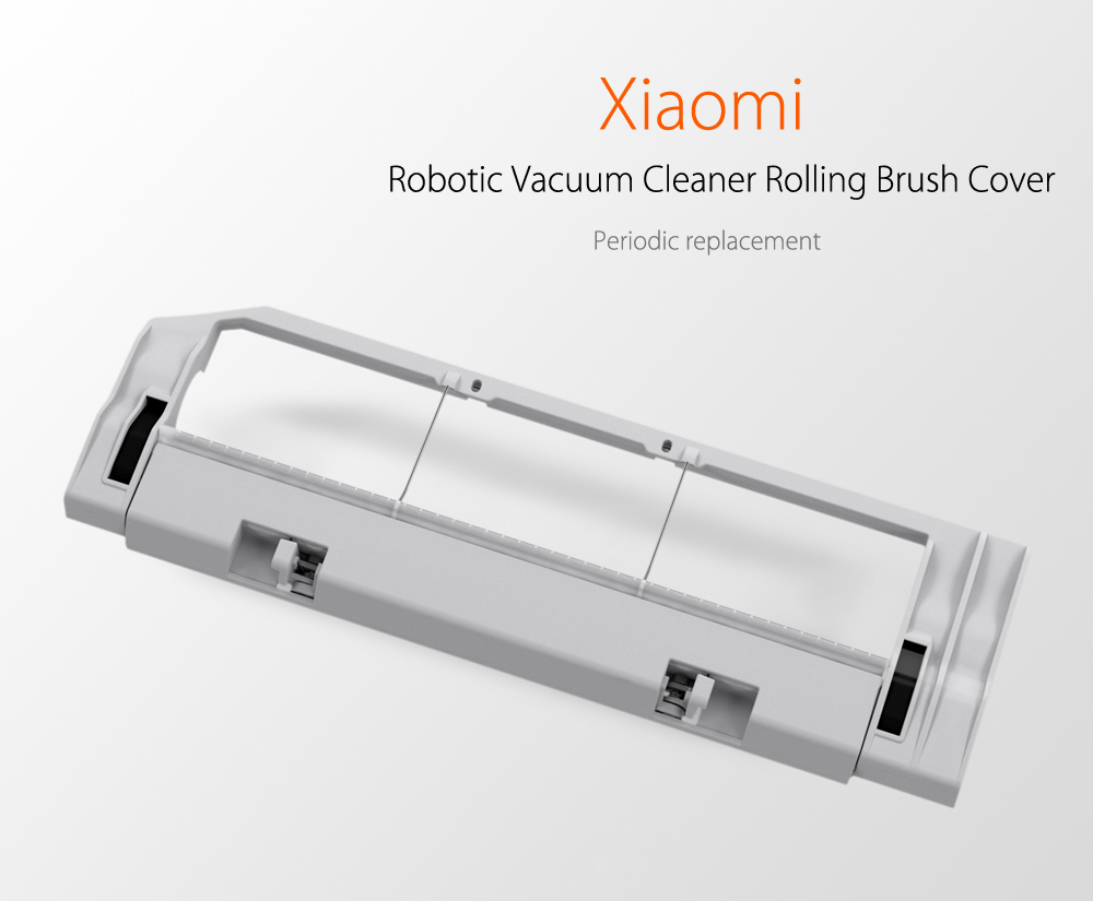Robotic Vacuum Cleaner Rolling Brush Cover for Xiaomi Sweeper Accessories- Crystal Cream
