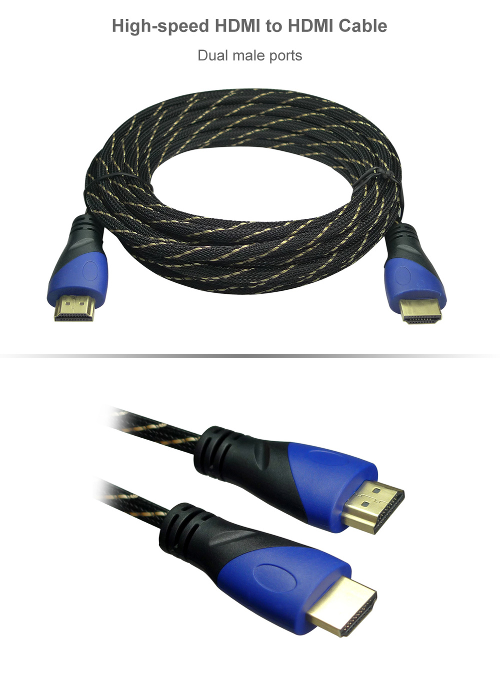 6m High-speed HDMI to HDMI Cable Dual Male Port