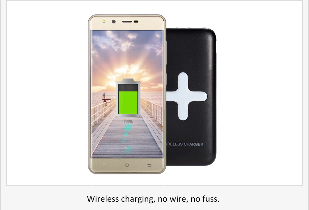 MS - WP100 7000mAh Portable Power Bank Wireless Charger - $22.19 ...