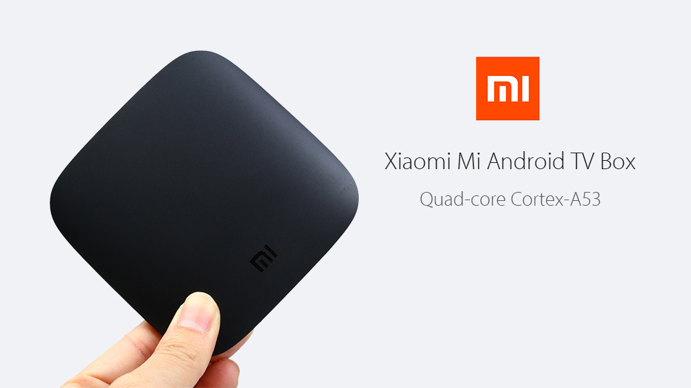 Gearbest Original Xiaomi Mi TV Box (Official International Version) only 68.04€