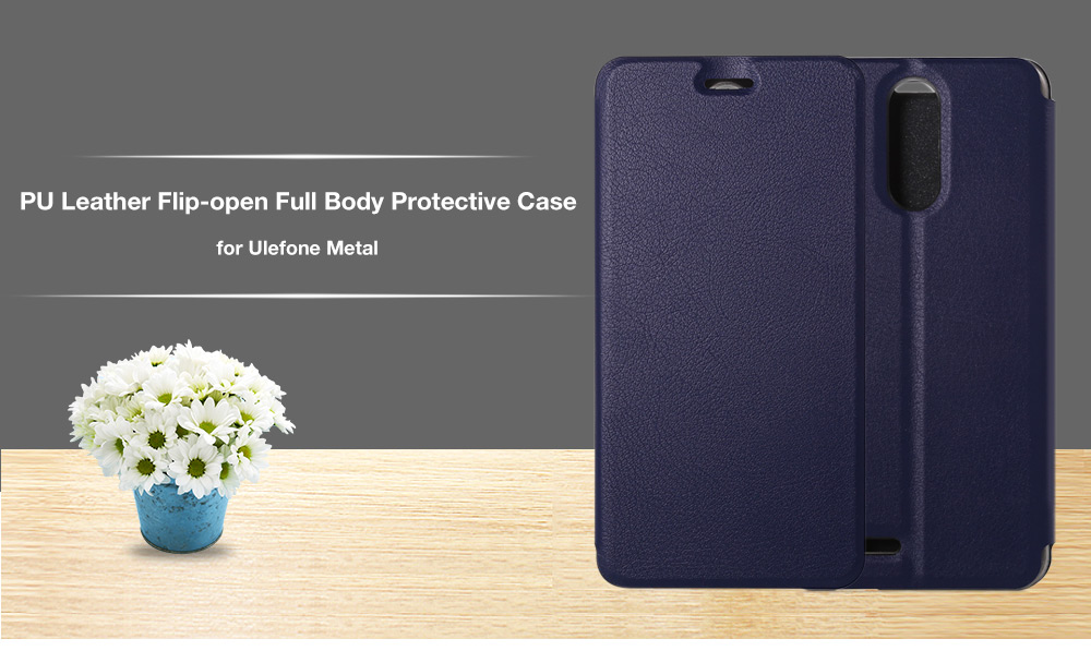 OCUBE Full Body Phone Case Flip per Ulefone metallo