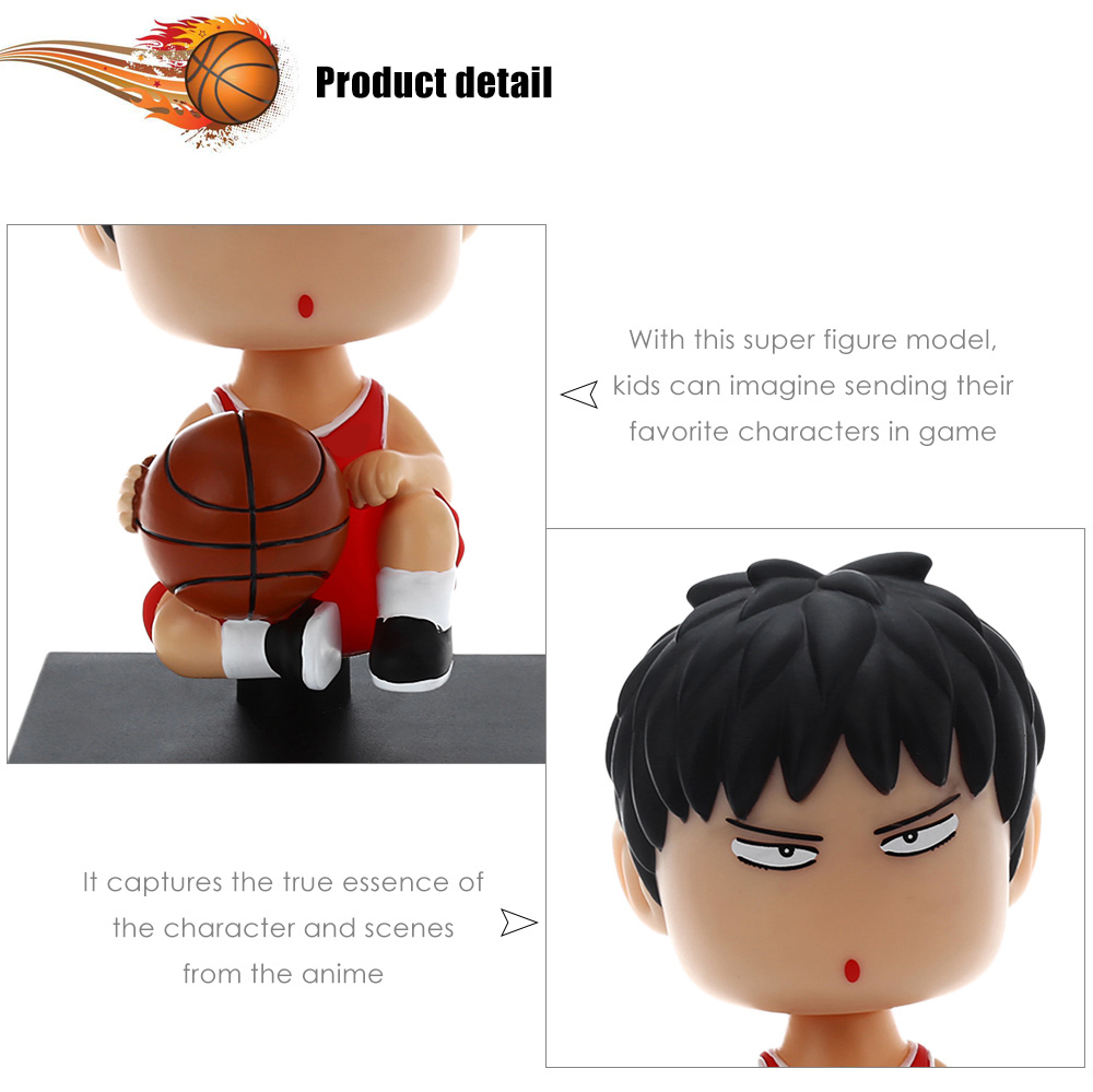 ABS + PVC Action Figure Anime Collectible Figurine - 4.3 inch