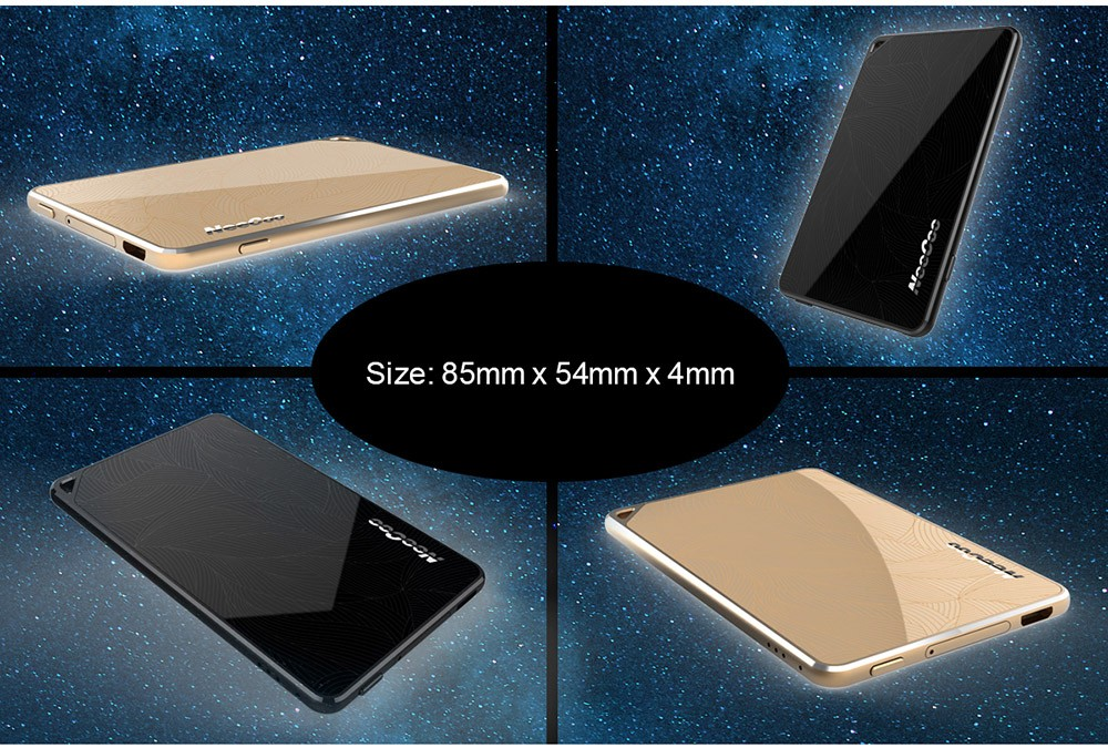 NeeCoo Bluetooth V4.0 Dual SIM Card Adapter Ultra-thin Lightweight Design