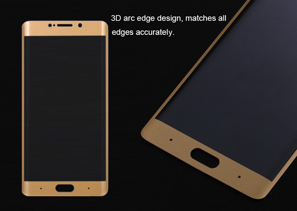 ASLING Tempered Glass Screen Protective Film for Xiaomi Note 2 0.2mm 9H 3D Arc Edge Full Cover Explosion-proof Protector
