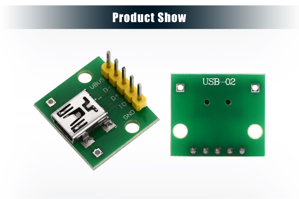 2pcs Hot Female Type A USB For 2.54MM PCB Board DIP Adapter ca