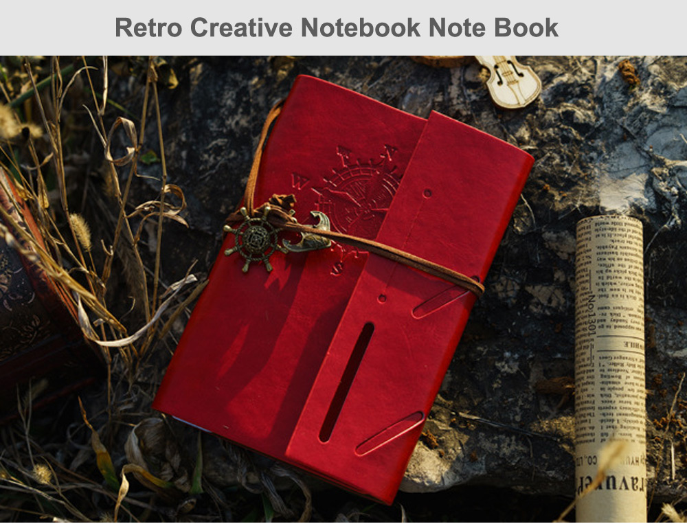 European Retro Creative Notebook Note Book