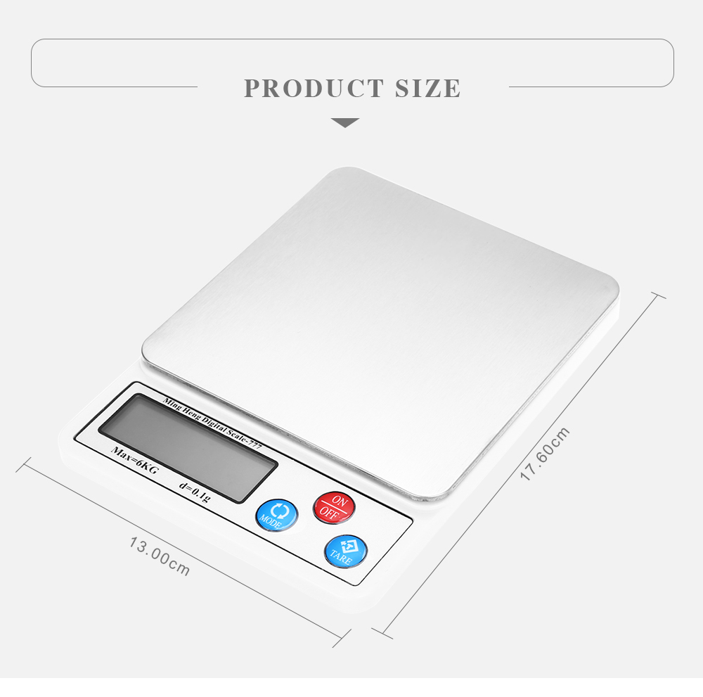 MH - 777 Precise 6000g Digital Kitchen Scale - $24.30 Free Shipping ...