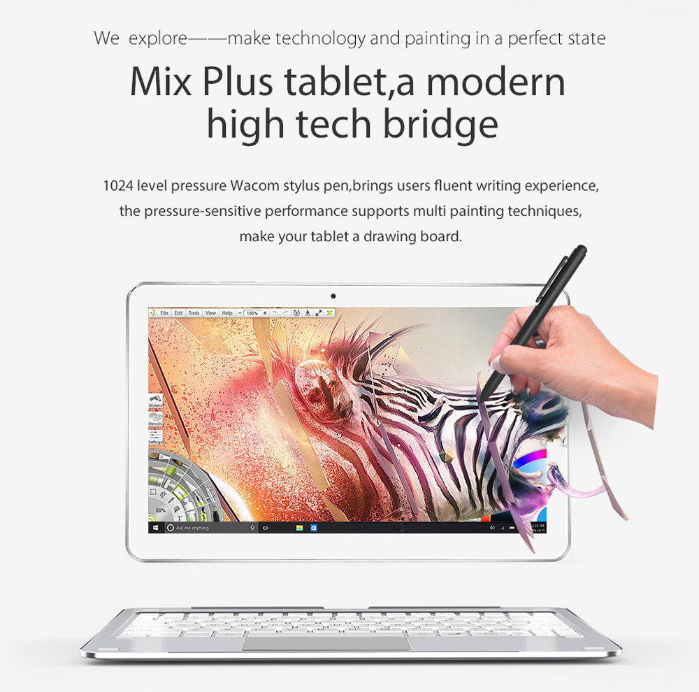 Alldocube Mix Plus 2 In 1 Tablet Pc 42163 Free Shipping Download Image Watt Led Driver Circuit Android Iphone And Ipad 106 Inch Windows 10 Ips Capacitive Screen Intel