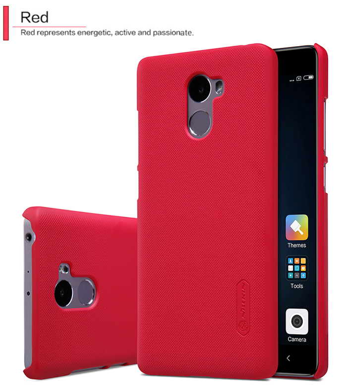 Nillkin Frosted Style PC Hard Protective Cover Case with Screen Film for Xiaomi Redmi 4 Standard
