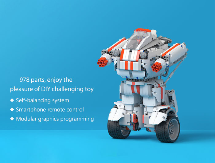 Xiaomi MITU DIY Mobile Phone Control Self-assembled Robot Building Block Toy