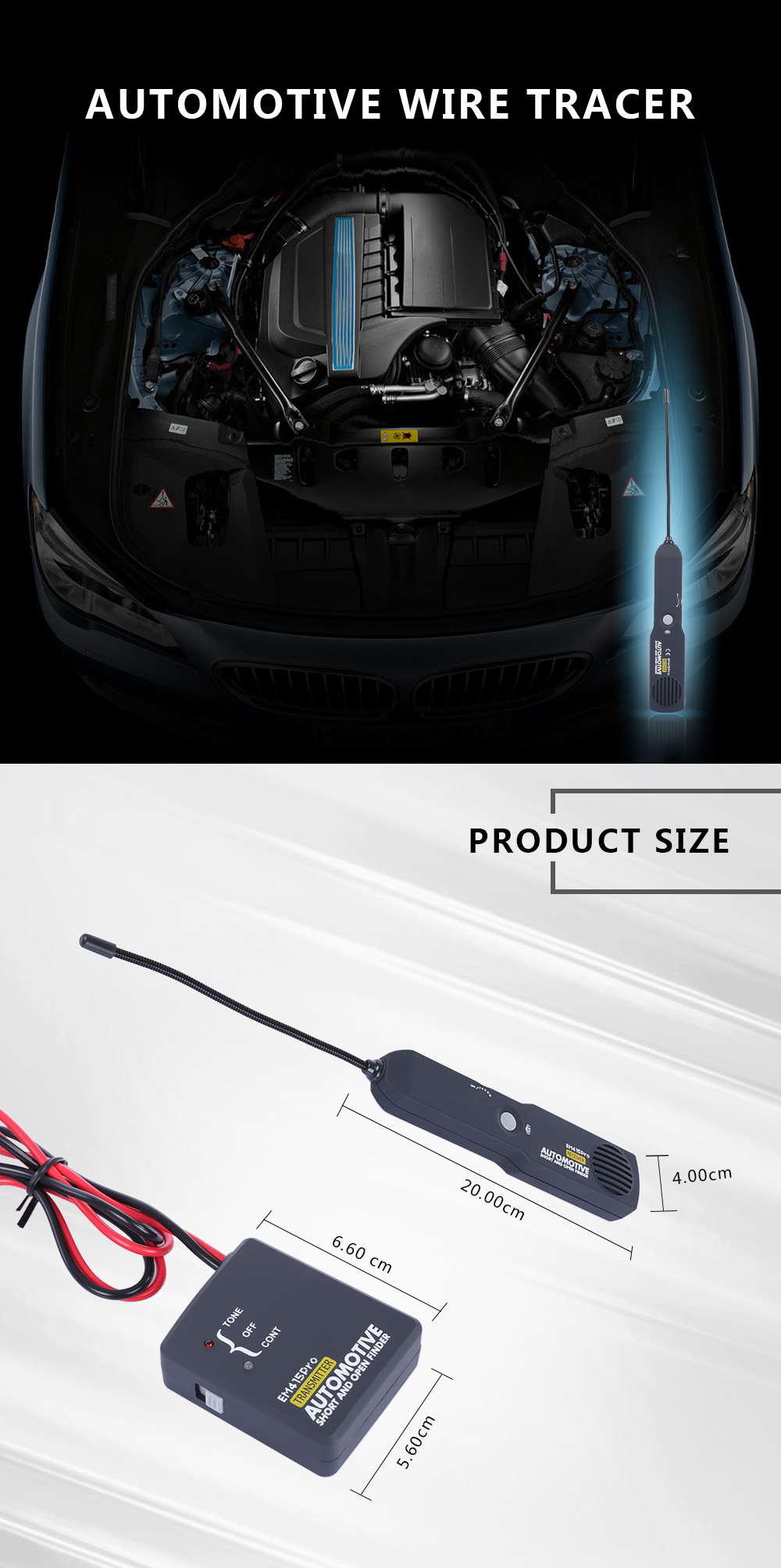 Automotive Wire Tracer - $41.09 Free Shipping|GearBest.com