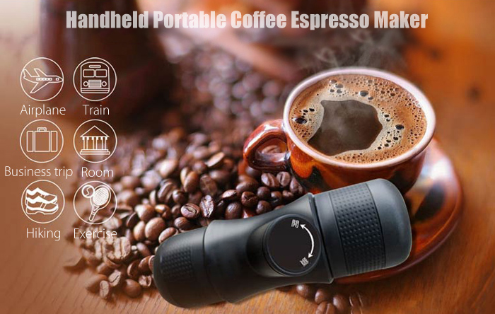 Handheld Portable Coffee Espresso Maker for Home Travel