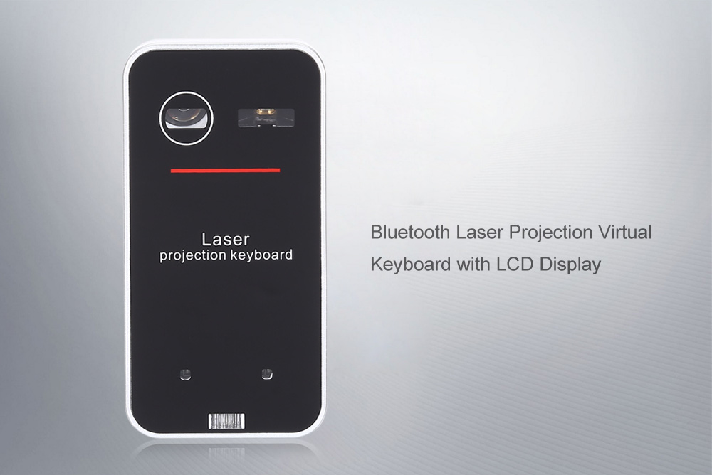 99eef5c4402 Bluetooth Laser Projection Virtual Keyboard with Mouse Function Voice  Prompt- Black