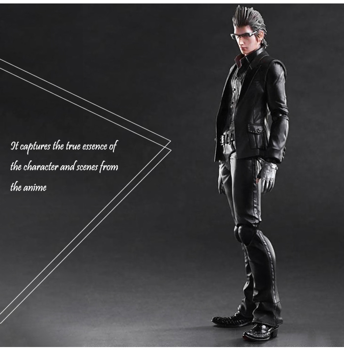 Action Figure Animation Collectible ABS + PVC Figurine - 10.6 inch