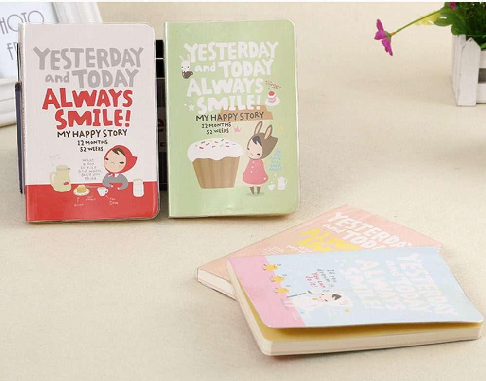 Cute Note Book Artless Notebook for School