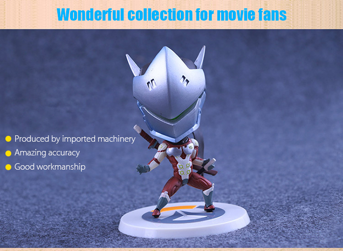 Cosplay Game Action Figure Collectible ABS + PVC Figurine Toy - 4.33 inch- Colormix Style 2