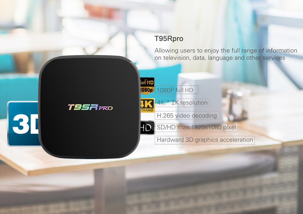 Sunvell T95Rpro Android Smart Live Streaming TV Box
