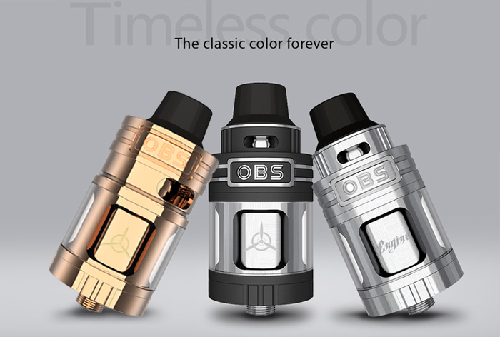 Original OBS Engine RTA 25mm / 5.2ml Rebuildable Tank Atomizer with Top Filling Design for E Cigarette